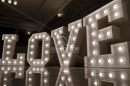HIT sezonu - wielki napis LOVE 100 cm, super wrażenie na sesji foto!