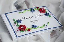 Zaproszenia ślubne, winietki, kartki, księgi gości, albumy quillig