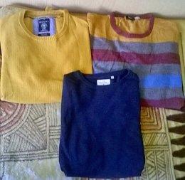 Duze swetry meskie 3 sztuki