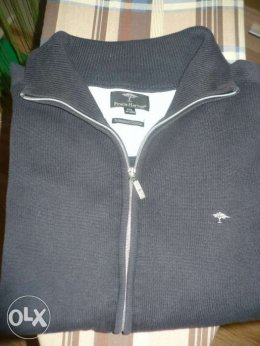 Sweter męski zasuwany Fynch-Hatton