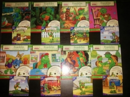 Franklin-kolekcja książek i płyt + gratis