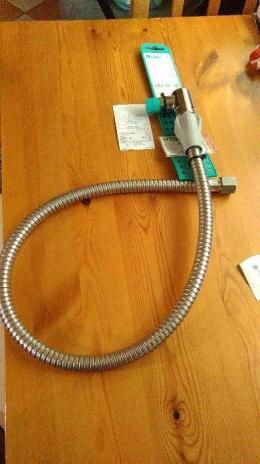 Szybkozłącze gazowe elastyczne