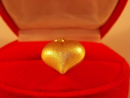 Ładne Złote Serce 2,14 GR 585
