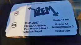 2x Bilety na Koncert DŻEMU! ! 15.01.2017 Ergo Arena