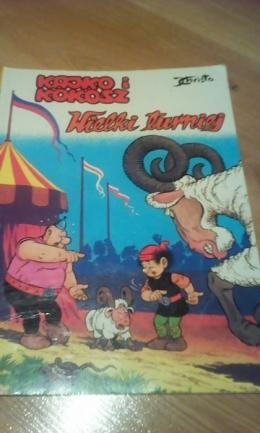 """Komiks """"Kajko i Kokosz"""" sprzedam/zamienie"""