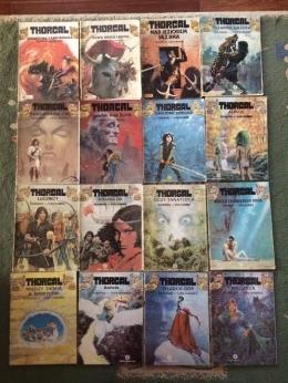 Thorgal tomy 1-34 (Wydawnictwo Egmont + Orbita)
