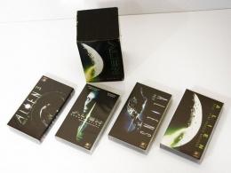 ALIEN - OBCY SAGA cztery kasety video VHS komplet