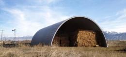 Hala łukowa stalowa dla rolnictwa, magazyn, garaż, wiata na bale w 24H