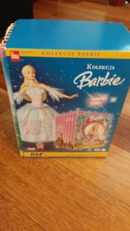 Kolekcja filmów z książeczkami Barbie