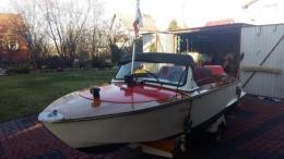 Łódz motorowa + silnik