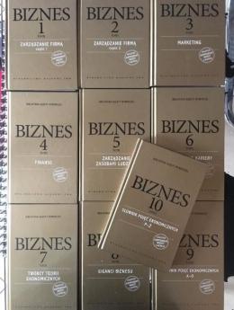 10 tomów książki Biznes