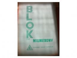 Blok papier milimetrowy A3