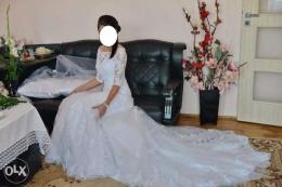 Hiszpańska suknia ślubna z salonu Madonna w Katowicach