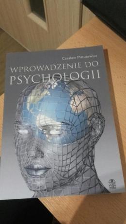 Książka Wprowadzenie do psychologii