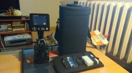 Mikroskop bresser z wyswietlaczem LCD