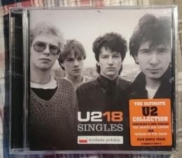 """Płyta """"U2 18 SINGLES"""""""