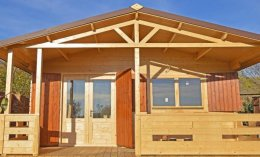 W2 5x7 domek weekend domek letniskowy domki ogrodowe z drewna 500x700