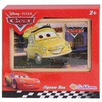 Eichhorn - Drewniane Puzzle Cars w pudełku wer.2 3257