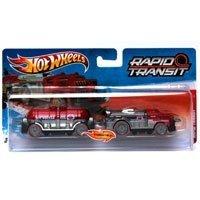 Hot Wheels - Ciągnik z naczepą Rapid Transit Fast Freight W4423 V0137