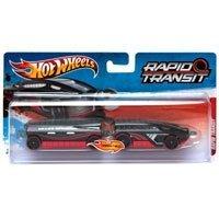 Hot Wheels - Ciągnik z naczepą Rapid Transit Snake Speeder W4417 V0137