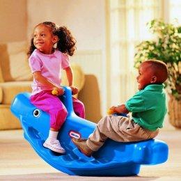 Little Tikes - Wieloryb na biegunach niebieski 4879
