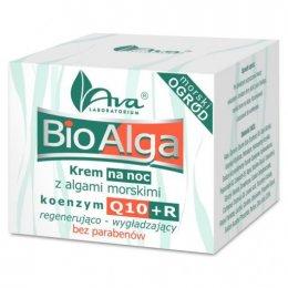 BioAlga krem na noc z algami morskimi, koenzym Q10+R 50ml