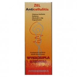 GorVita Żel Anticellulitis wyszczupla ujędrnia 200ml