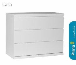 Komoda 3-szufladowa Lara biała