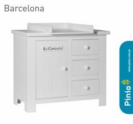 Przewijak do komody Barcelona biały