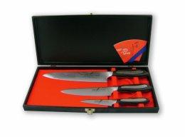 Zestaw 3 noży Tojiro Flash: FF-PA90+FF-UT150+FF-CH210