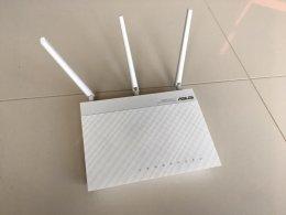 Router bezprzewodowy Asus RT-N66W, jak nowy, Gb ethernet, 900Mpbs szyb
