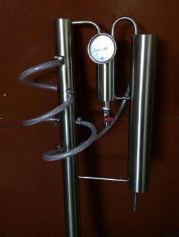 Zimne palce kolumna destylator, na beczka keg 30 i 50 litrów bimber