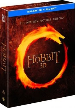 Hobbit Trylogia Blu-ray 3D