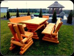 Meble ogrodowe drewniane huśtawka 100zł cały kraj wysyłka za granice
