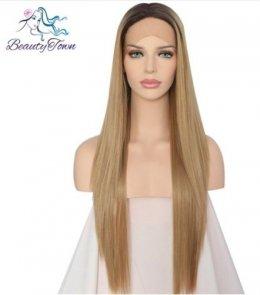 Peruka włos syntetyczny jak naturalny ombre różne wzory i kolory