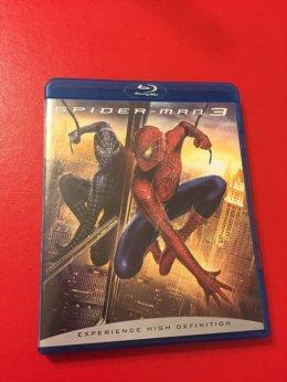 Spider-Man 3 blueray