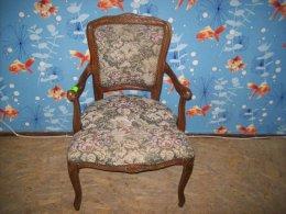 Fotel nr 4 styl ludwik XVI przywieziony z Niemiec 100 % sprawny