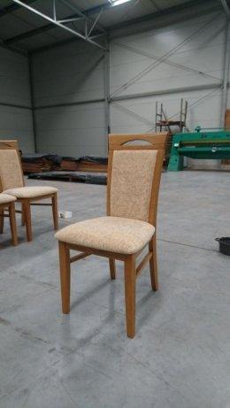 Krzesła dębowe 6 szt. rustikal