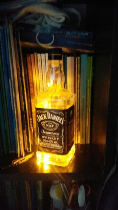 Lampka Led Z Butelki Whiskey