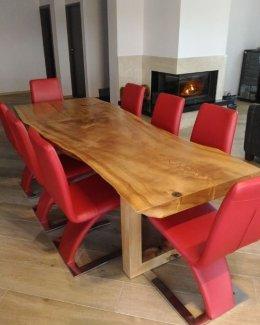 Stół z topoli czarnej 250cm