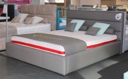 Tapicerowane łóżko Theo 120x200 ze stelażem - duży wybór tkanin !