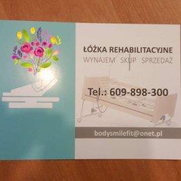 Wynajem Łóżek Rehabilitacyjnych, materac gratis, bez kaucji, 100 pln