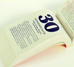 Kartka z Kalendarza LATA 196O - 2O18 WYPRZEDAŻ - ZAPRASZAMY 5zł