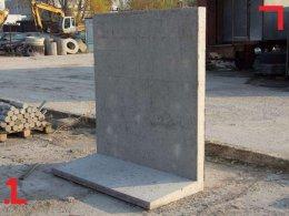 Ścianki oporowe, murki betonowe 50-167cm wysokości od producenta.