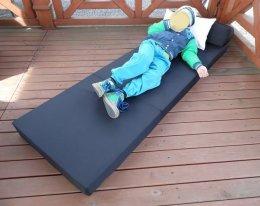 Materac na OGRÓD składany rozkładany fotel łóżko POLECAM