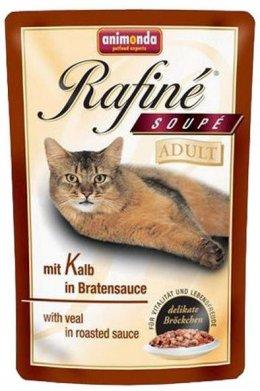 Animonda Rafine Soupe Adult cielęcina w pieczeniowym sosie 100g