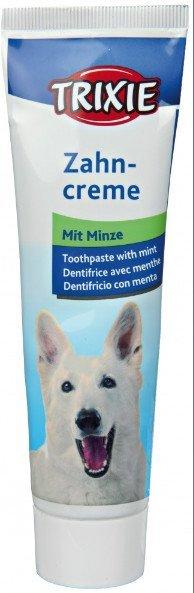 Trixie Pasta do zębów dla psa 100g miętowa nr kat. 2557