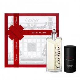Cartier Declaration woda toaletowa spray 100 ml + dezodorant szyft 75