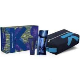 Kenzo Pour Homme Night woda toaletowa spray 100 ml + shower gel 50 ml + pouch