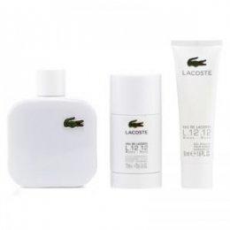 Lacoste Eau de Lacoste L.12.12 Blanc woda toaletowa spray 100 ml + żel pod prysznic 50 ml + ...